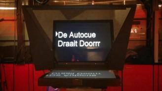autocue tv DWDD